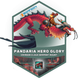 Pandaria Hero Glory Boost, crimsoun cloud serpent carry