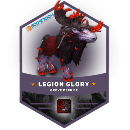 grove defiler mount boost, legion raider glory carry