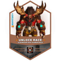 buy highmountain Tauren allied race unlock boost