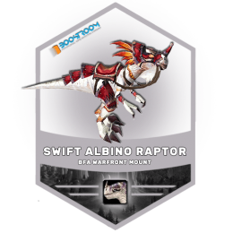 buy swift albino raptor mount boost, buy swift albino raptor mount carry