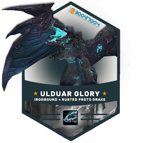 Ironbound Proto Drake Boost, ulduar raider glory boost