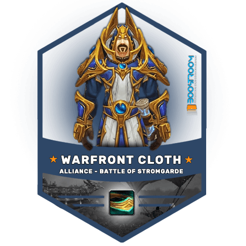 warfont alliance cloth gear boost, warfont alliance cloth gear carry