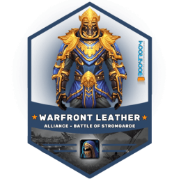 warfront alliance leather gear boost, warfront alliance leather gear carry