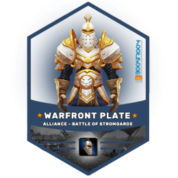 warfront alliance plate gear boost, warfront alliance plate gear carry