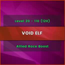 buy void elf allied race level boost, WoW Void Elf level