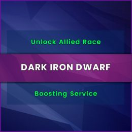 dark iron dwarf unlock boost, dark iron dwarf unlock carry