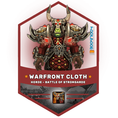 warfront horde cloth gear boost, warfront horde cloth gear carry