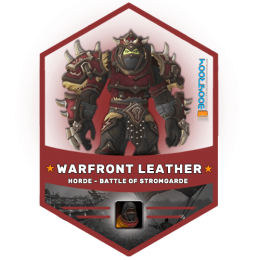 warfront horde leather gear boost, warfront horde leather gear carry