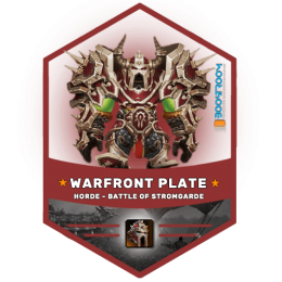horde plate gear battle of stormgarde boost, warfront horde plate gear carry