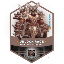 unlock maghar orc boost, unlock maghar orc carry, purchase wow allied race carry