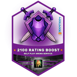 wow arena 2100 rating boost