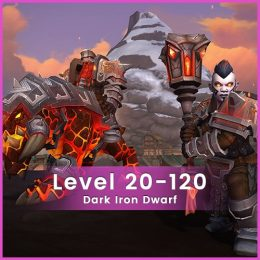 wow dark iron dwarf 120 level boost, wow dark iron dwarf 120 level carry
