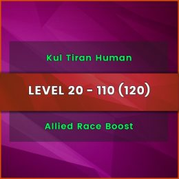 wow kultiran human power level carry, wow kultiran human power level boost