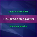 buy wow lightforged draenei allied race level boost, buy wow lightforged draenei allied race unlock carry