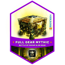 mythic dazaralor gear boost, mythic dazaralor gear carry