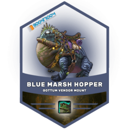 wow blue marsh hopper mount boost, wow blue marsh hopper mount carry