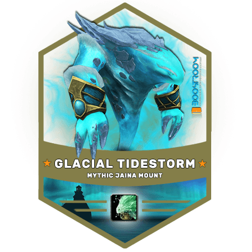 wow glacial tidestorm mount boost, wow glacial tidestorm mount carry