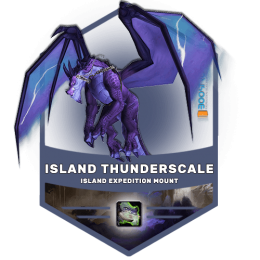 wow island thunderscale mount boost, wow island thunderscale mount carry