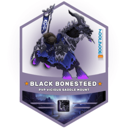 wow vicious black bonesteed mount boost, wow vicious black bonesteed mount carry