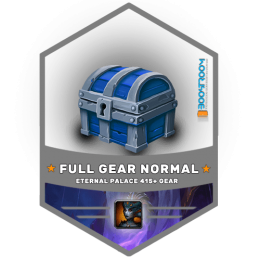 eternal palace normal full gear boost, eternal palace normal full gear carry