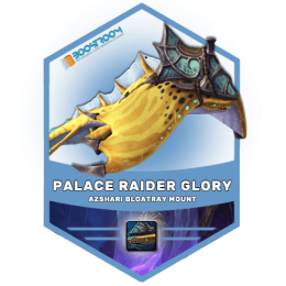 eternal palace raider glory boost, eternal palace glory carry, azshari bloatray mount