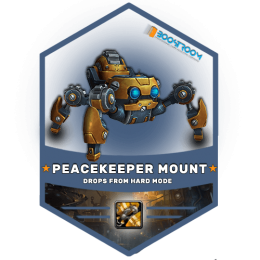 mechagon peacekeeper mount boost, wow mechagon peacekeeper carry