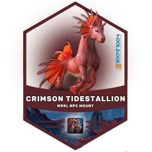 wow crimson tidestallion boost, crimson tidestallion mount carry