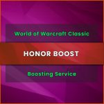 wow classic honor boost