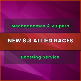 mechagnomes and vulpera boosting service