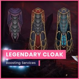 wow legendary cloak unlock boost