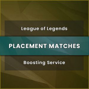 lol placement boosting, lol placement matches boost