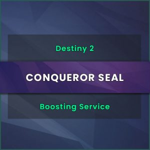 destiny 2 conqueror seal